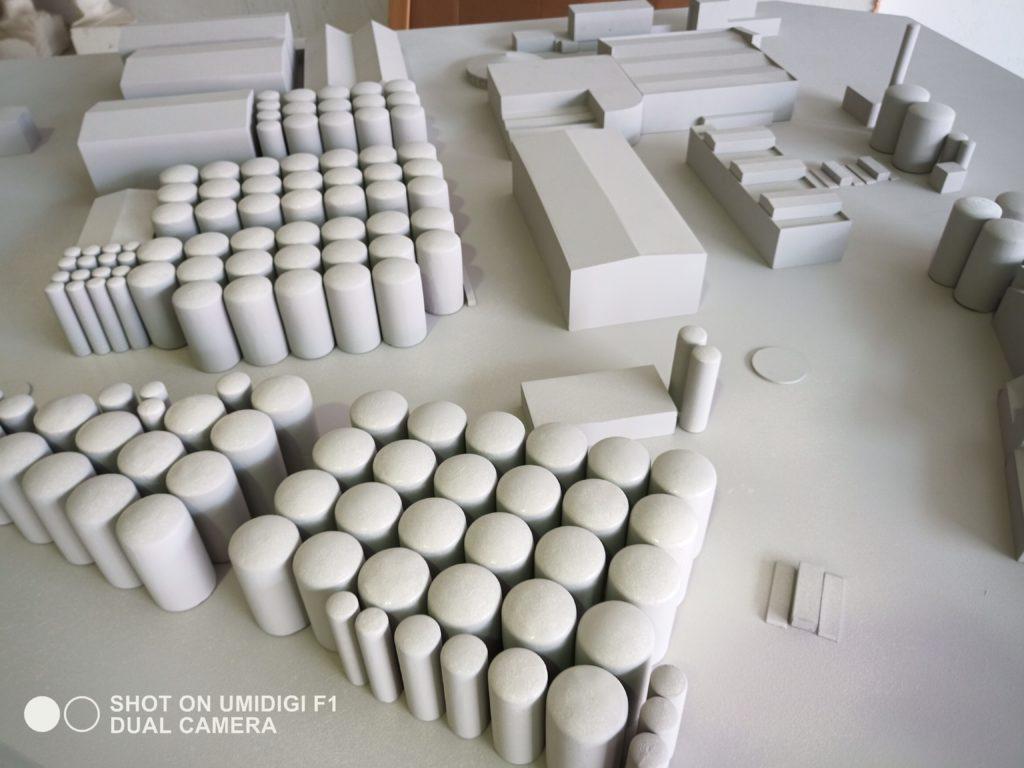 Maquetas arquitectónica bodega 2