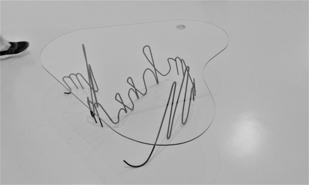 mesa artista Maria Loboda