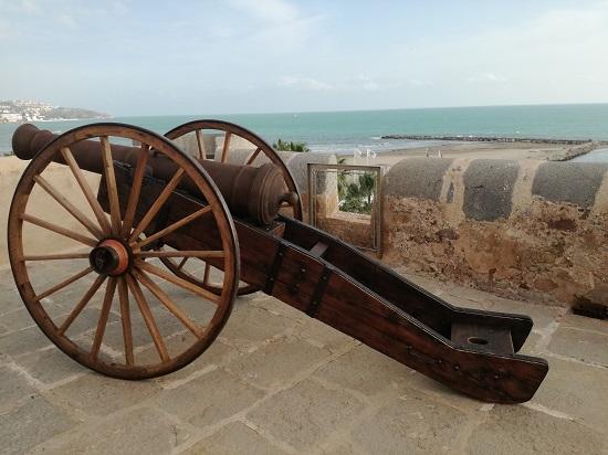 Réplica cañón 1