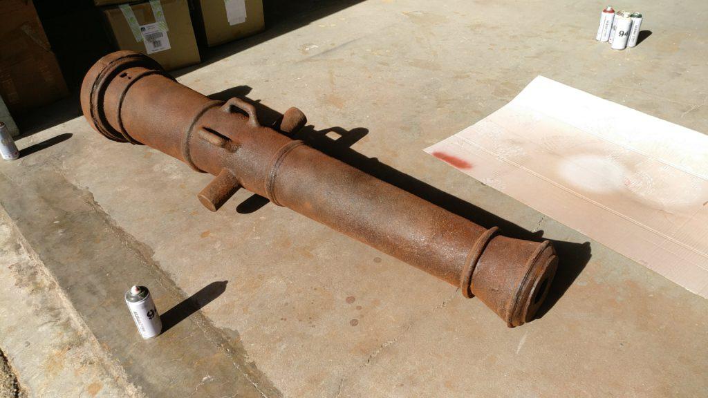 Réplica cañón 2