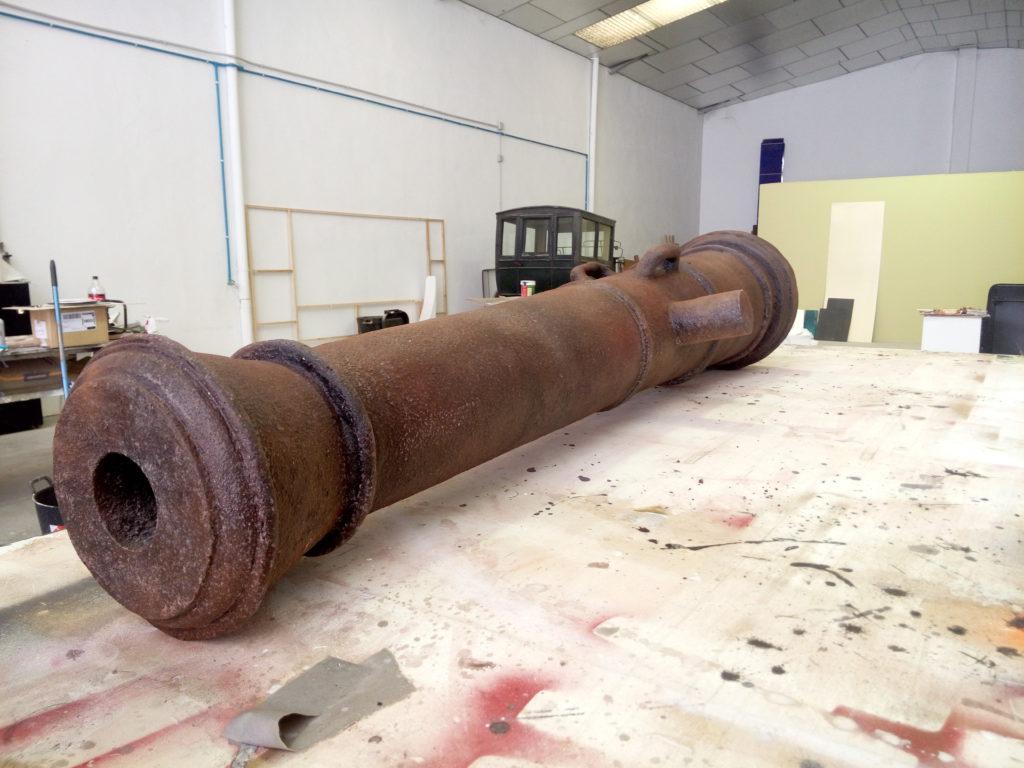 Réplica cañón 4
