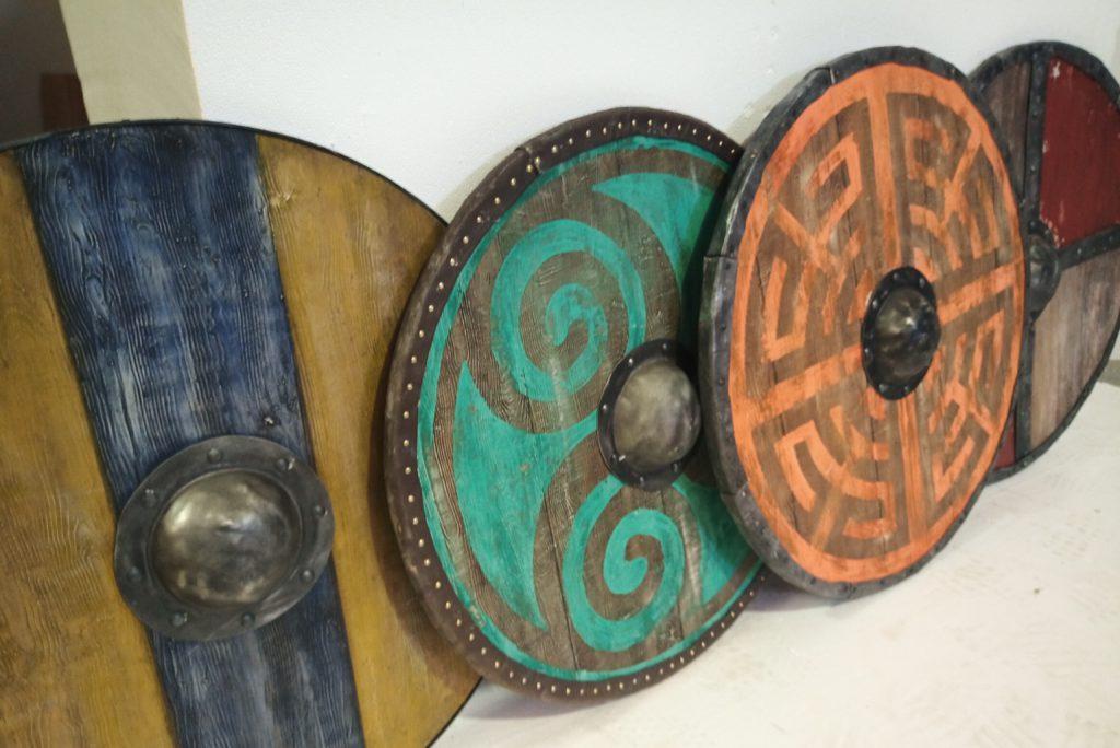 Réplica escudos vikingos