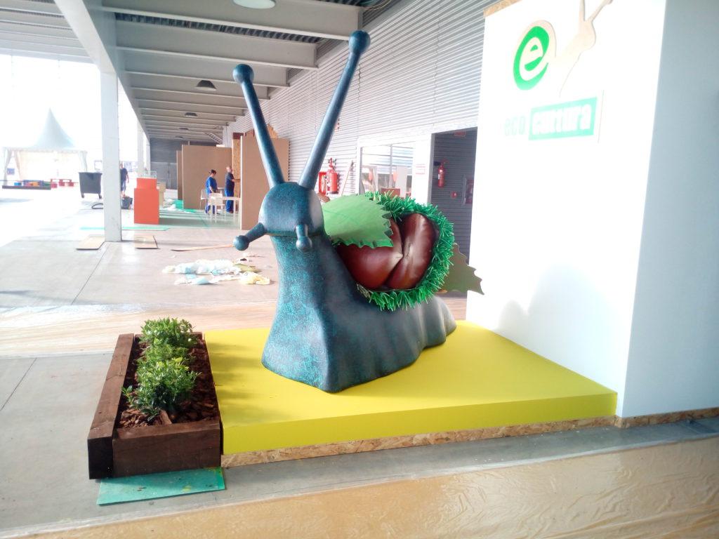 Escultura caracol 5