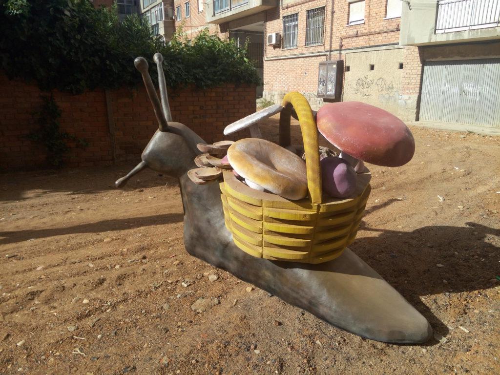 Escultura caracol 4