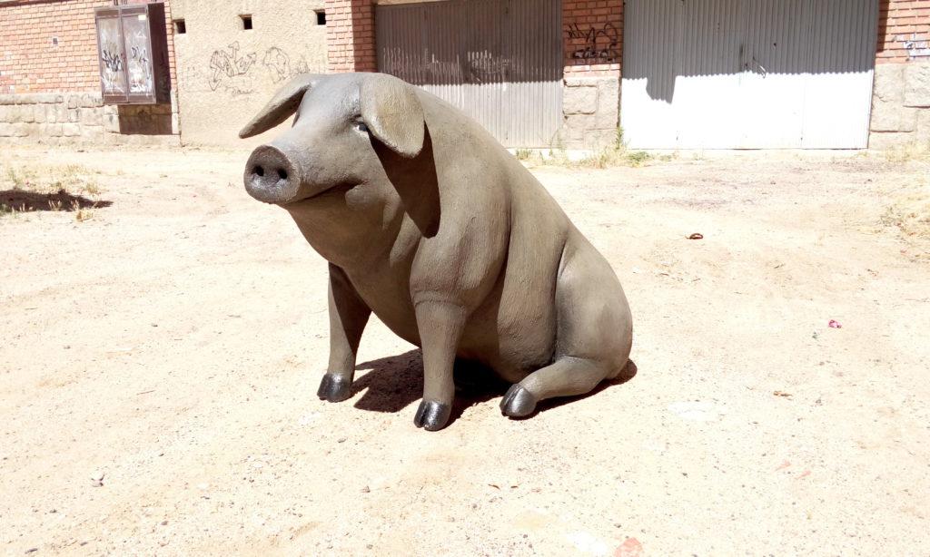 cerdo decorativo