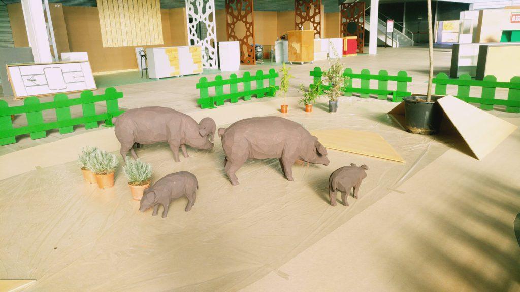 cerdos decoración