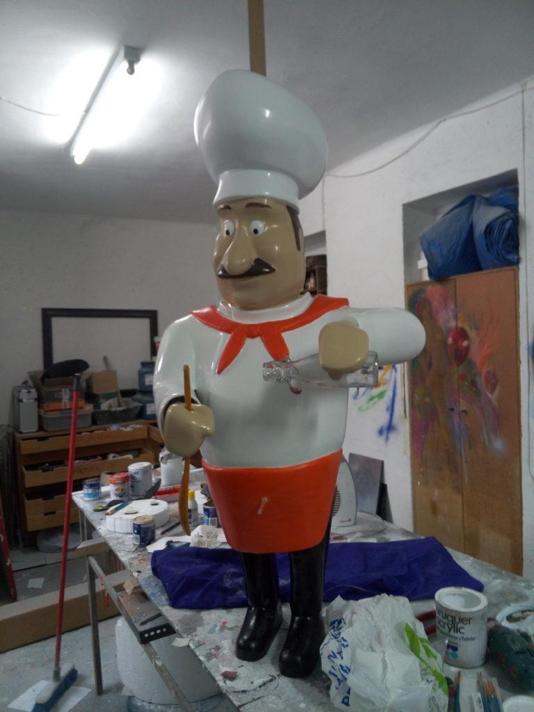Muñeco Cocinero