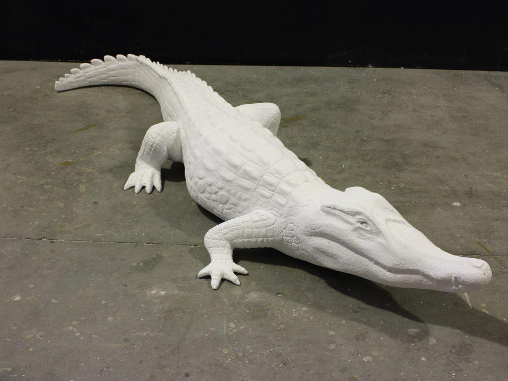 Réplica cocodrilo