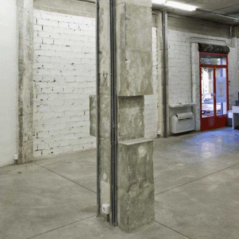 intervención artística para Juan López