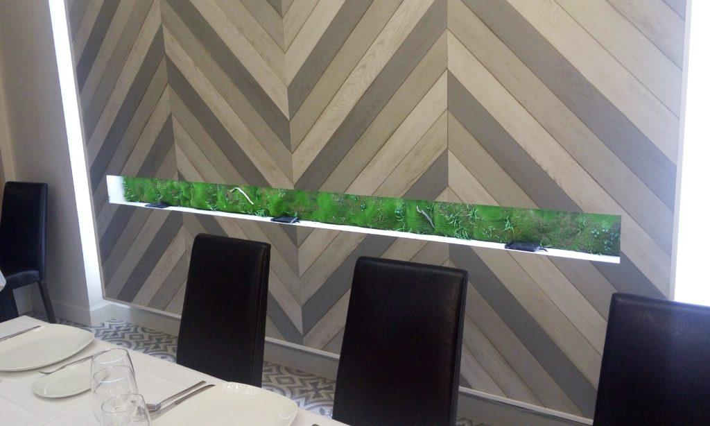 decoración jardín vertical