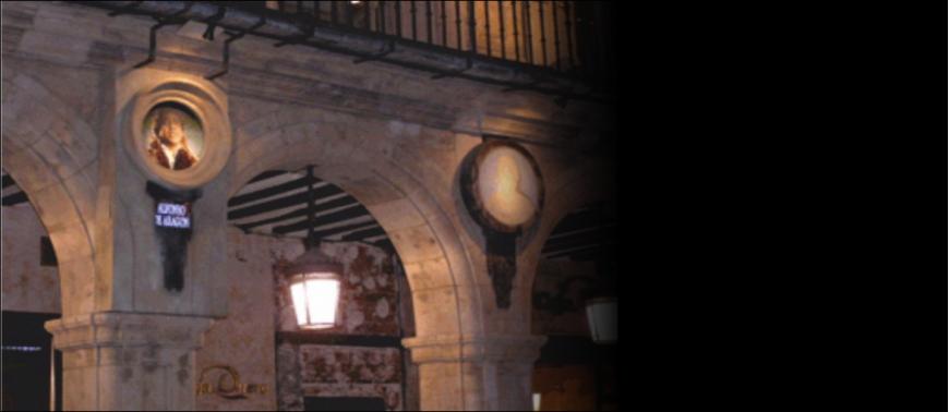 Réplica medallones Plaza Mayor Salamanca 2