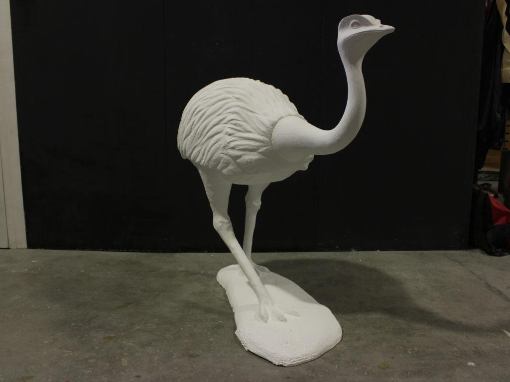 Réplica avestruz