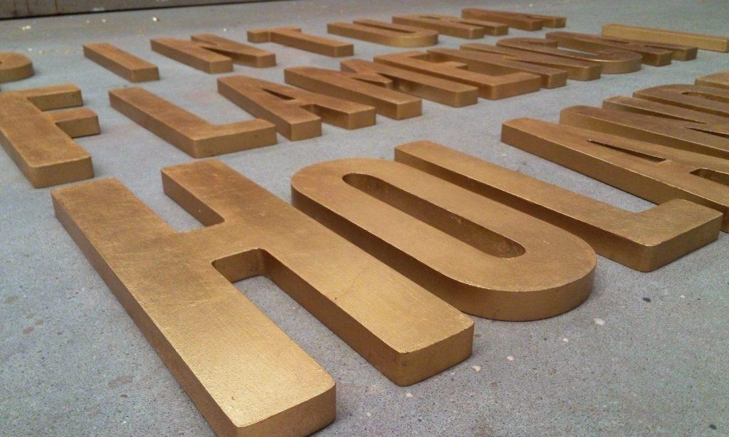 Letras pan de oro 2